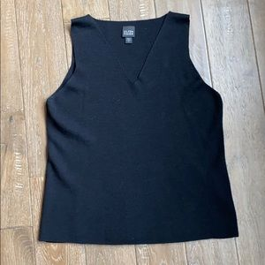Eileen Fisher V-neck Wool Tank Size L